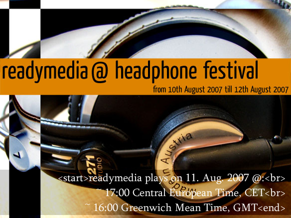 readymedia @ Headphone Festival