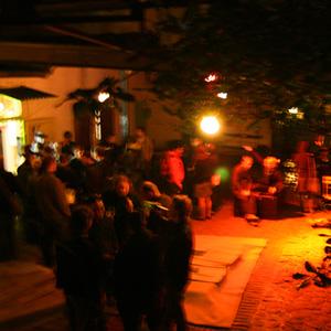 Live beim Electric-Garden-Festival