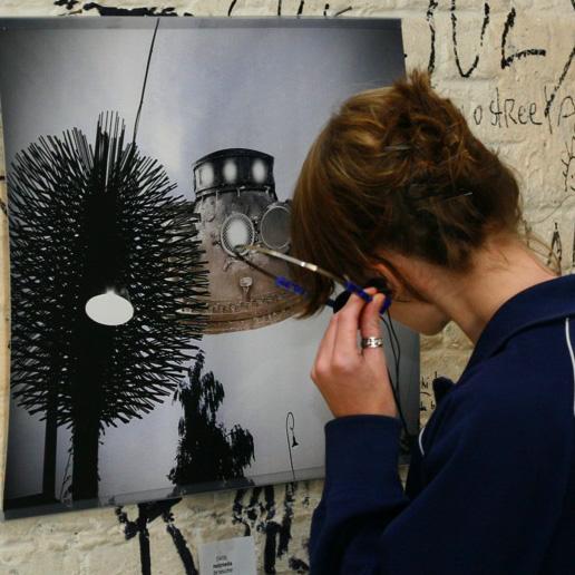 Installation beim Netaudio Festival Berlin